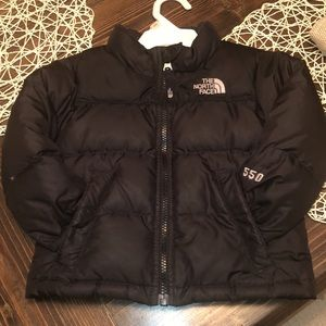 2T The North Face 550 Down Coat